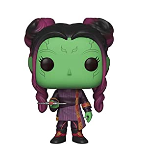 41TBJ2L I2L. SS300 Funko Pop! Marvel: Avengers Infinity War - Young Gamora with Dagger, Standard Toy, Multicolor