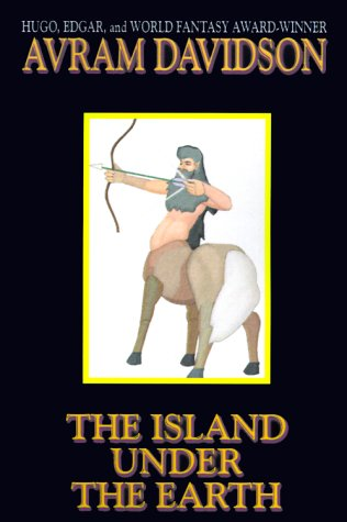 book cover of The Island Under the Earth