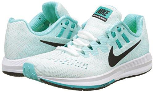 türkis schwarz Zoom Air Schuh 5 Running Nike 849577 Women Structure 40 weiss 20 q7wPE