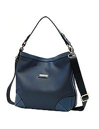 Parlontis ®women's Shoulder Bags Nylon bag handbags models tide Messenger Bag Large bags Simple cloth (sapphire--large(30*9*30))