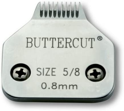 Geib Buttercut Stainless Steel Dog Clipper Blade, Size-5/8, 1/32-Inch Cut Length