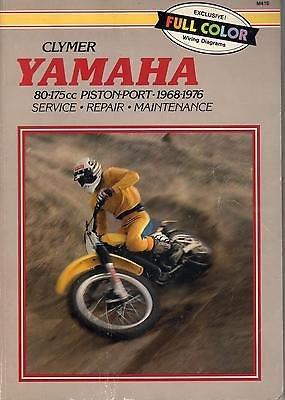 Snowmobile Piston - 1968-1976 CLYMER YAMAHA 80-175cc PISTON-PORT SERVICE/REPAIR/PERFORMANCE (388)