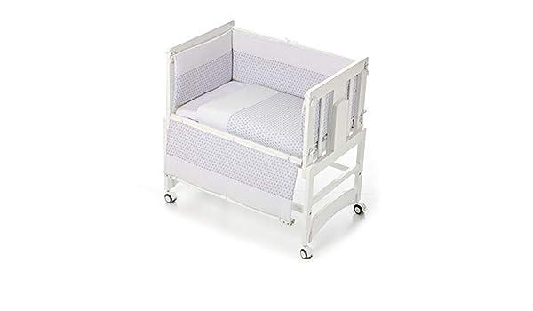 Bolin Bolon BO9072443195 Cuna Allegra blanca 5 en 1 + textil gris ...