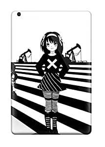 Everett L. Carrasquillo's Shop 4562005K61474673 Tpu Shockproof/dirt-proof Melancholy Anime Cover Case For Ipad(Mini 3)