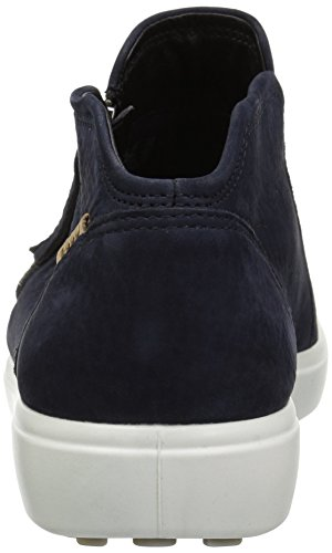 Night 2303 Ladies Boots Ankle ECCO Blue Women's Sky Soft 7 xqwy0RZA