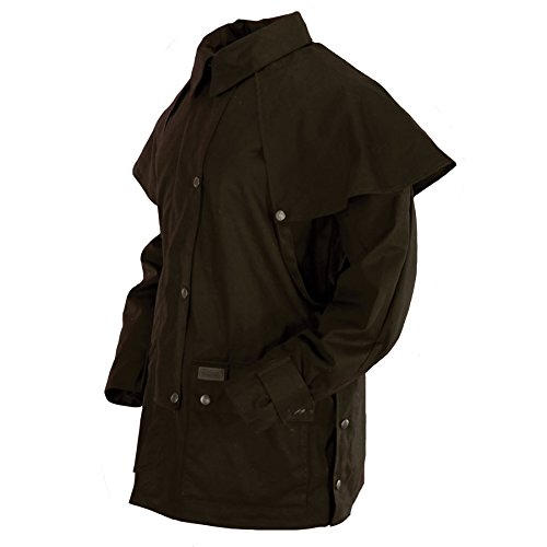 Outback Trading Bush Ranger Jacket - Brown (MD) by Outback Trading (Image #3)