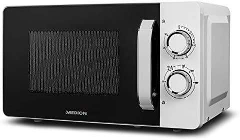 MEDION MD18687 Microondas, 17 litros, 700 W, 6 niveles de ...