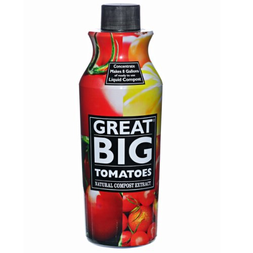 Great Big Tomatoes Natural Compost Extract Fertilizer, 32 Ounce - Liquid Tomato