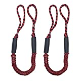 Bungee Dock Line Mooring Rope for Boat 3.5 ft 2 Pack
