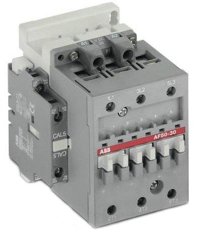 Image of ABB AF50-30-11-70 3P, Contactor, IEC, 100-250 VAC/VDC