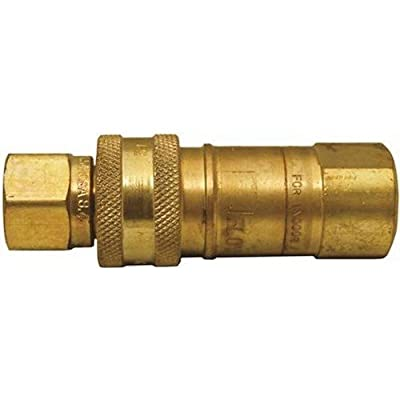Marshall ME-GMC6 Quick Connector 3/8 In. Male Npt X 3/8 In. Female Npt