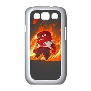 Samsung Galaxy S3 9300 Cell Phone Case White ENRAGED O1E7PX