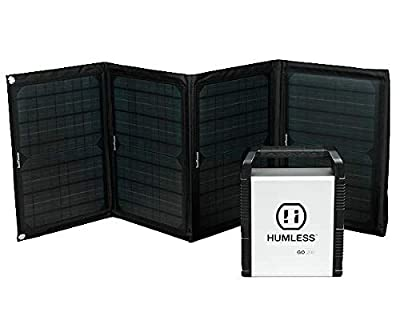 Humless Backpack Solar Kit - Go 200 with 40w Panel
