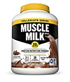 Muscle Milk Collegiate Protein Powder, Chocolate, 20g Protein, 5.29 Pound ( Pack May Vary ) For Sale