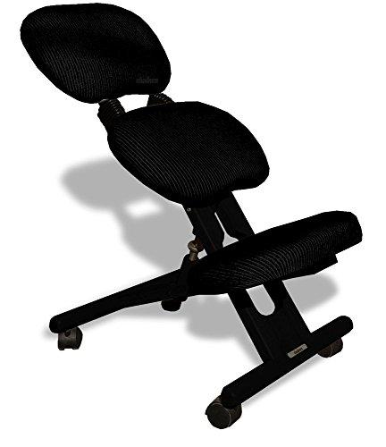 Sedia ergonomica con schienale cinius nera sedie - Sedia ergonomica cinius ...