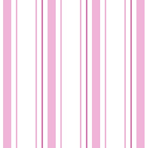 ky Monkeys Pink Stripe Wallpaper (Traditional Stripe Wallpaper)