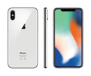 Apple iPhone X with FaceTime - 256GB, 4G LTE, Silver