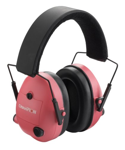 Champion Pink Electronic Ear Muffs by Champion Traps and Targets