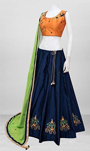 Amit Exclusiva Semi Choli De Fashions Stitch Diseño Para Mujeres Indio Lehenga 5TrXrqw