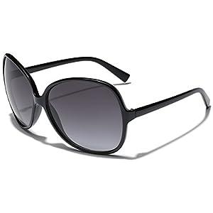 Oversized Big Round Frame Womens Celebrity Sunglasses