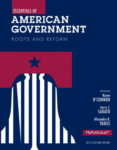 NEW MyLab Political Science without Pearson eText -- Standalone Access Card -- for Essentials of American Government: Roots and Reform, 2012 Election Edition (11th Edition) (American Government Roots And Reform 12th Edition)