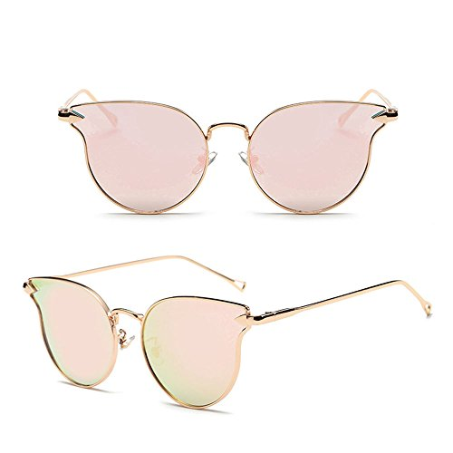 AMAZZANG-Retro Vintage Women's Gold Cat Eye Sunglasses Classic Oversized Shades Fashion - Sunglasses Online Buy Fastrack