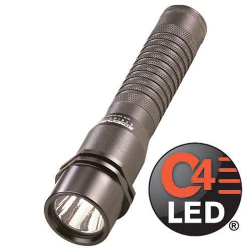 (Streamlight LED Flashlight w/ AC/12V DC & 1-Holder, Black)