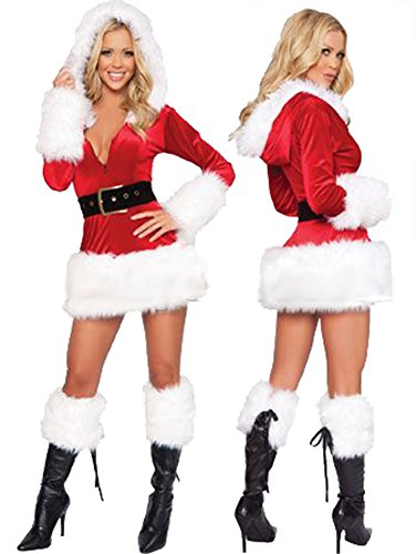 Large Size Santa Dress (Sexy Plus Size Costume)