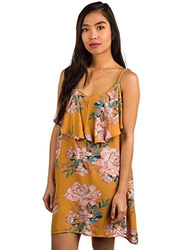 Gold Down Kleid Billabong Kleid Done Honey a66wOq