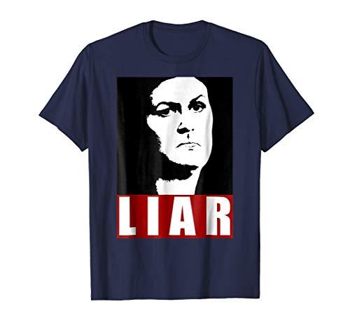 SARAH HUCKABEE SANDERS Lying Liar TShirt Funny Anti-Trump AF