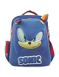 "Mochila Backpack Infantil Sonic Azul para Laptop 16"" SC20BP15"