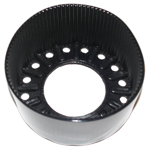 (JCS 7.25inch Diameter, Flexible Vinyl, Flat Bottom Tank Boot for Aluminum 80 Tank Cylinders, Black)