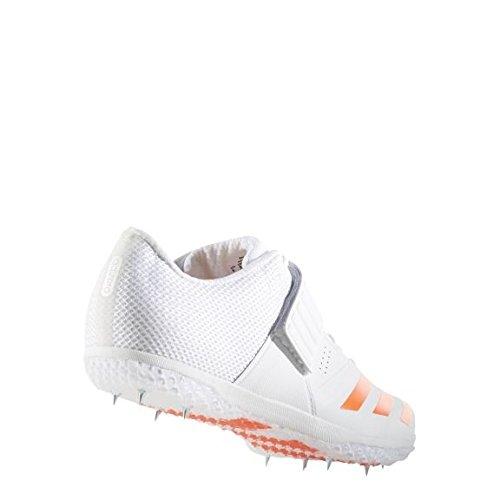 91bcfdfcbca2c6 adidas adizero High Jump Running Spike Shoe White Red - UK 4  Amazon.co.uk   Shoes   Bags