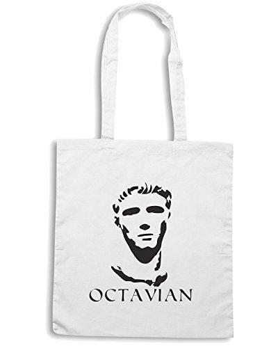 T-Shirtshock - Bolsa para la compra OLDENG00199 octavian Blanco