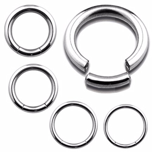 Seamless Segment WildKlass Ring 316L Surgical Steel (Sold by Piece)