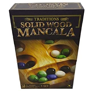Cardinal Games - Traditions: Solid Wood Mancala
