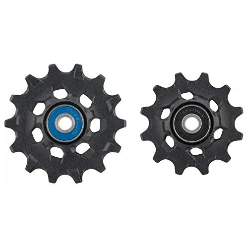 Eagles Ceramic - SRAM Eagle Ceramic Pulley Wheel Assemble Kit Black, 12 Speed, XX1/X01/GX Eagle