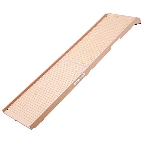 Petstep Original Folding Pet Ramp, Khaki/Beige