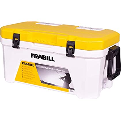 Image of Bait Storage Frabill Magnum Bait Station 13 Quart Live Bait Well