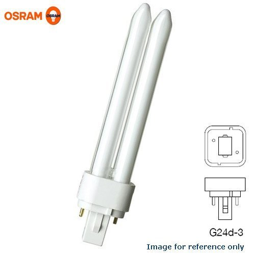 26 Watt 2 Pin - Sylvania 20681 - CF26DD/841/ECO - 26 Watt - 2 Pin G24d-3 Base - 4100K - CFL Light Bulb