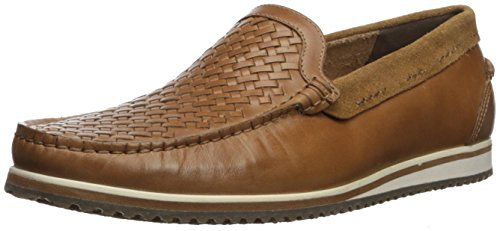 - Hush Puppies Men's Bolognese Woven Moc Loafer Light Brown 8 W US