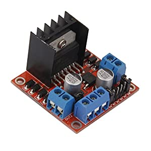 L298N H Dual-Bridge Modul / DC Motor Driver Stepper Motor Board für Arduino