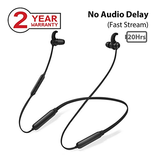 Avantree NB16 20Hrs Bluetooth Neckband Headphones Earbuds for TV PC