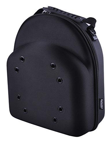 - GALEXBIT Baseball Hat case Cap Carrier Case Holder for 6 Caps Hat Bag for Travel(Black) (L)