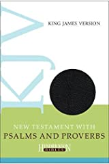 KJV New Testament with Psalms and Proverbs (Hendrickson Bibles) Imitation Leather