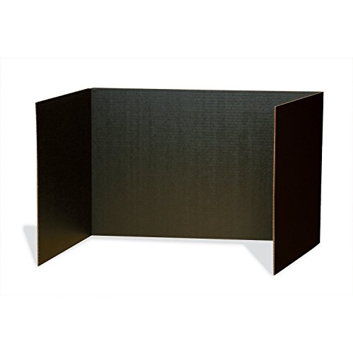 (Pacon PAC3791BN Privacy Boards, Black, 48