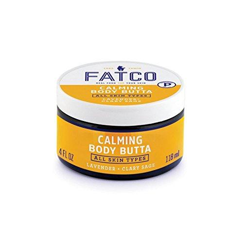 FATCO Calming Body Butta, 4 oz (Lavender + Clary Sage)