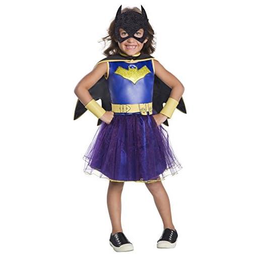 Rubie's Costume DC Comics Deluxe Batgirl Costume, X-Small, Multicolor