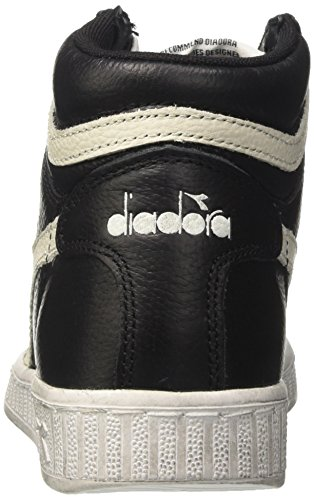 High Nero Game Nuvola Uomo Bianco a Collo Waxed Diadora Nero L Sneaker Alto BEwSZ