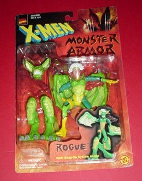 Rogue Costumes X Men (X-Men Monster Armor Rogue Action Figure)